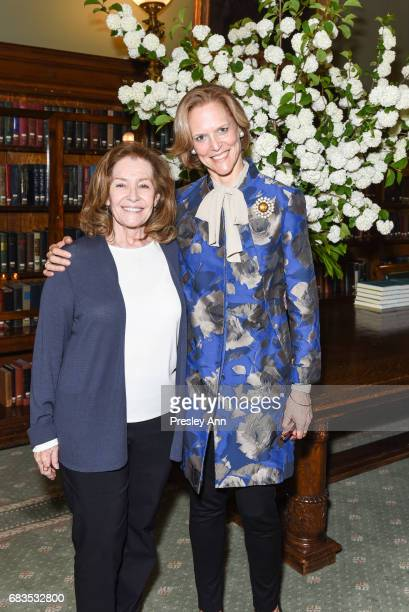 Irene Minkoff and Louisa Bennett attend Audrey Gruss' Hope for Depression Research Foundation Dinner with Author Daphne Merkin at The Metropolitan...