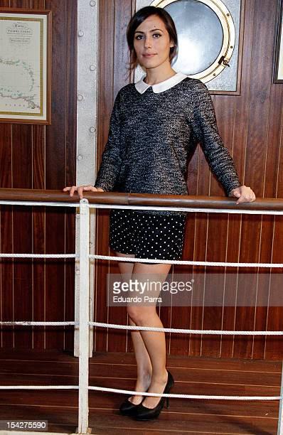 Irene Montala attends 'El barco' third season presentation at Adisar studios on October 17 2012 in Madrid Spain