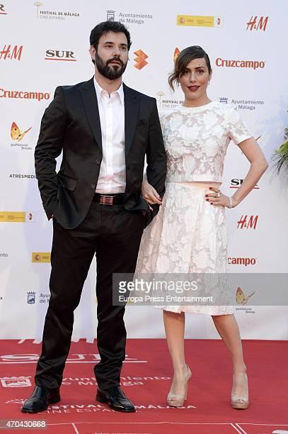 Irene Montala attends 'La Deuda' premiere during the 18th Malaga Film Festival on April 18 2015 in Malaga Spain