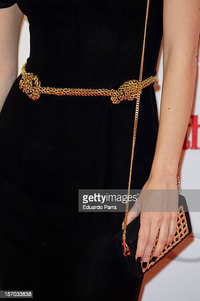 Irene Montala attends Men's Health Awards 2012 photocall at Reina Sofia Museum on November 27 2012 in Madrid Spain