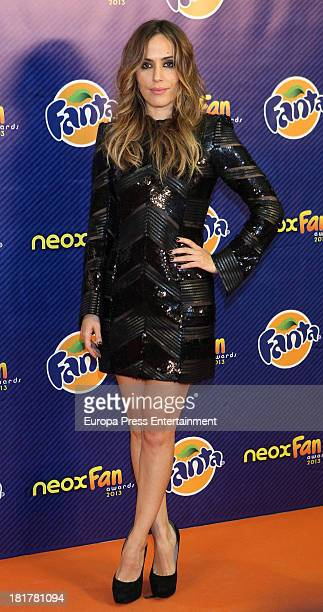 Irene Montala attends Neox Fan Awards photocall on September 24 2013 in Madrid Spain