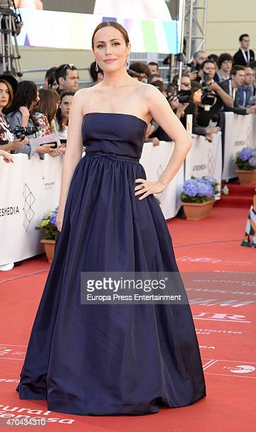 Irene Montala attends the 18th Malaga Film Festival opening ceremony on April 17 2015 in Malaga Spain