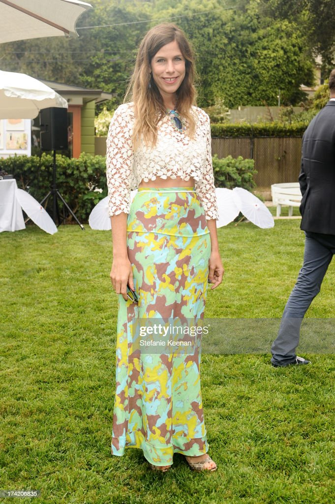 Irene Neuwirth attends LAXART 2013 Garden Party on July 21, 2013 in Los Angeles, California.
