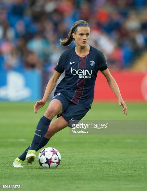 Irene Paredes of Paris Saint Germain during the UEFA Women's Champions League Final between Olympique Lyonnais and Paris Saint Germain on June 1 2017...