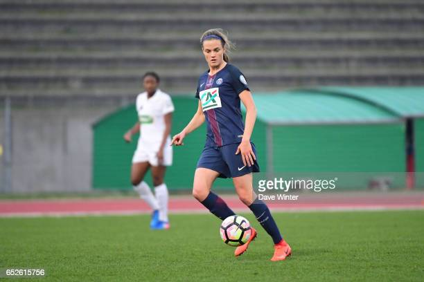 Irene Paredes of PSG during the Women's French Cup match between Juvisy and Paris Saint Germain on March 12 2017 in Bondoufle France