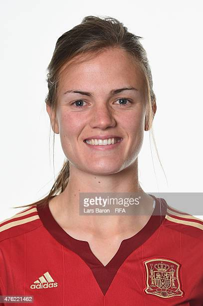 Irene Paredes of Spain poses during the FIFA Women's World Cup 2015 portrait session at Sheraton Le Centre on June 6 2015 in Montreal Canada