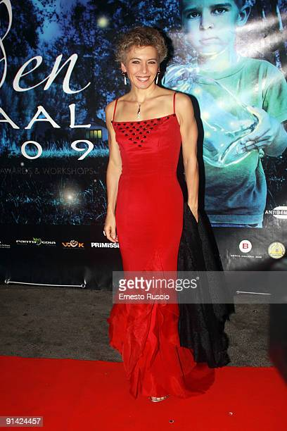 Irene Pivetti attends the 2009 Golden Graal Awards Ceremony at the Teatro Olimpico on October 4 2009 in Rome Italy
