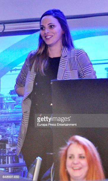 Irene Rosales attends 'El Hormiguero' Tv show at Vertice Studios on March 6 2017 in Madrid Spain