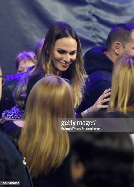 Irene Rosales attends the Isabel Pantoja concert during the 'Hasta que se apague el sol' tour at WiZink Center on February 11 2017 in Madrid Spain