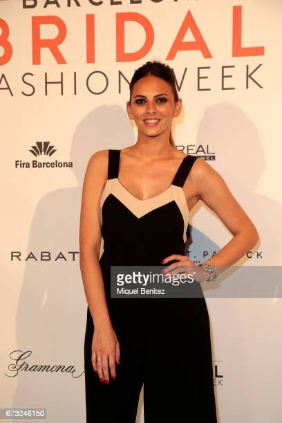 Irene Rosales attends the Studio St Patrick collection during Barcelona Bridal Fashion Week 2017 on April 26 2017 in Barcelona Spain