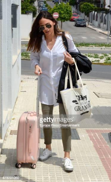 Irene Rosales is seen on April 25 2017 in Seville Spain