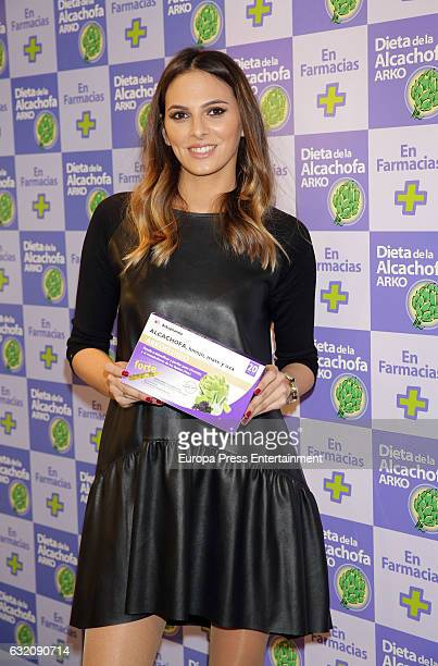 Irene Rosales presents 'Artichoke' diet on January 19 2017 in Madrid Spain