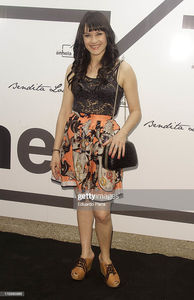 Irene Rubio attends 'Bendita locura' new collection party photocall at Villamagna hotel on June 11, 2013 in Madrid, Spain.