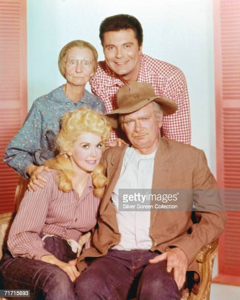Irene Ryan as Granny Moses Max Baer Jr as Jethro Bodine Donna Douglas as Elly May Clampett and Buddy Ebsen as Jed Clampett in 'The Beverly...