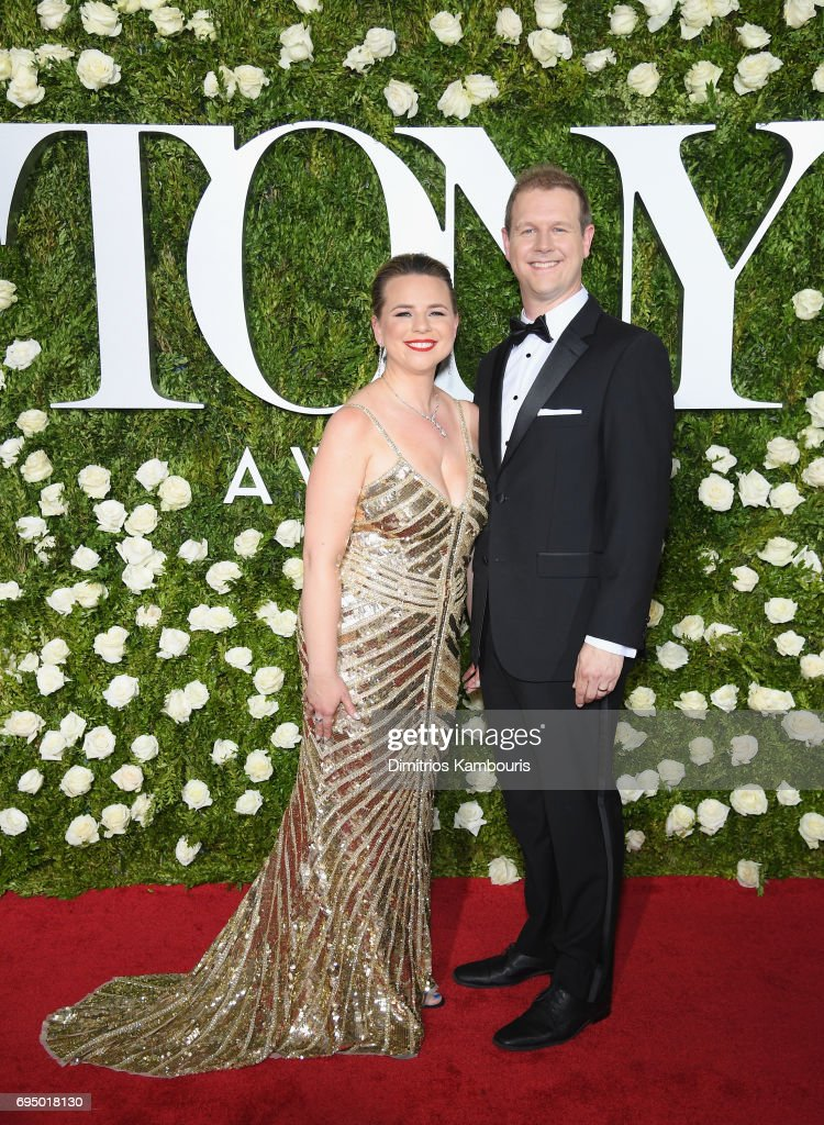 Irene Sakoff and David Hein attend the 2017 Tony Awards at Radio City Music Hall on June 11, 2017 in New York City.
