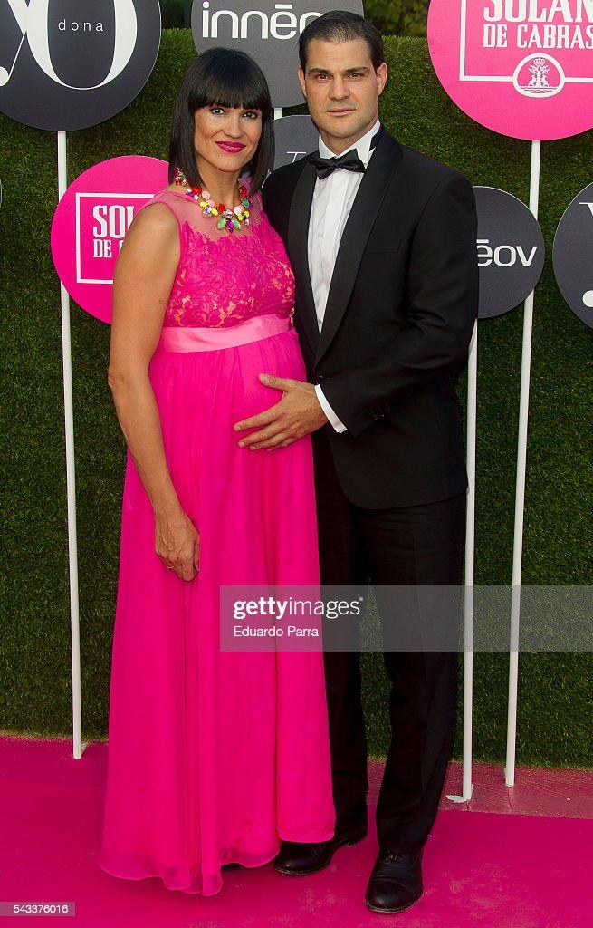 Irene Villa and husband Juan Pablo Lauro attend the 'Yo Dona' international awards at La Quinta de la Munoza on June 27, 2016 in Madrid, Spain.