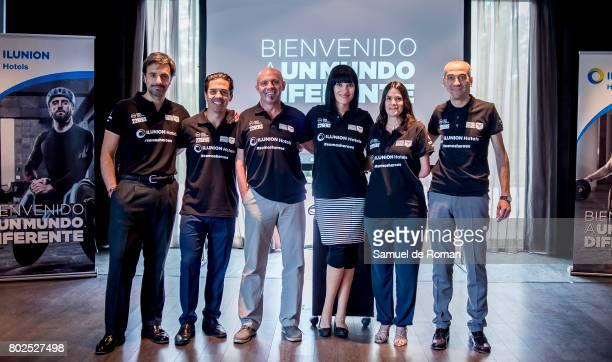Irene Villa and Josefina Guimarey Present '#somosheroes' on June 28 2017 in Madrid Spain