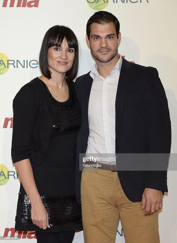 Irene Villa and Juan Pablo Lauro attend Mia magazine 'Cuida de Ti' 2013 Awards at Calderon theater on October 29, 2013 in Madrid, Spain.