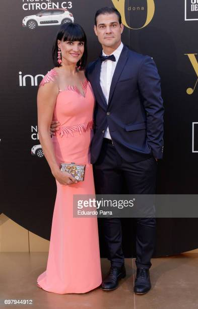 Irene Villa and Juan Pablo Lauro attend the 'Yo Donna International Awards' photocall at Duques de Pastrana palace on June 19 2017 in Madrid Spain