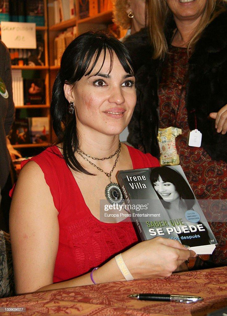Irene Villa attends 'Rastrillo Nuevo Futuro' at La Pipa in Casa de Campo on November 21, 2011 in Madrid, Spain.