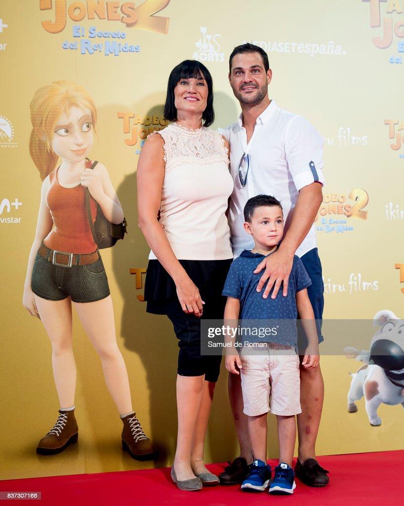 Irene Villa attends the 'Tadeo Jones 2. El Secreto Del Rey Midas' Madrid Premiere on August 22, 2017 in Madrid, Spain.