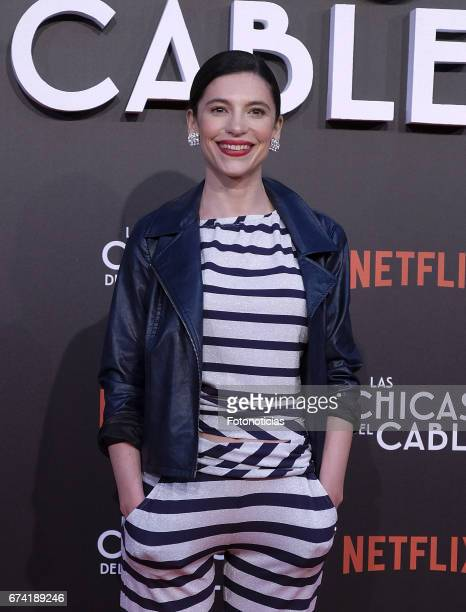 Irene Visedo attends the 'Las Chicas del Cable' Netflix Tv Series premiere at Callao Cinema on April 27 2017 in Madrid Spain