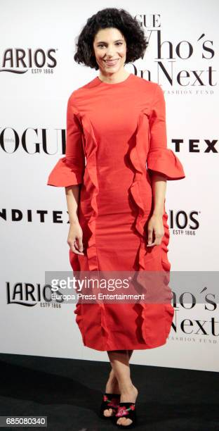 Irene Visedo attends VI Vogue Who's On Next party at El Principito on May 18 2017 in Madrid Spain