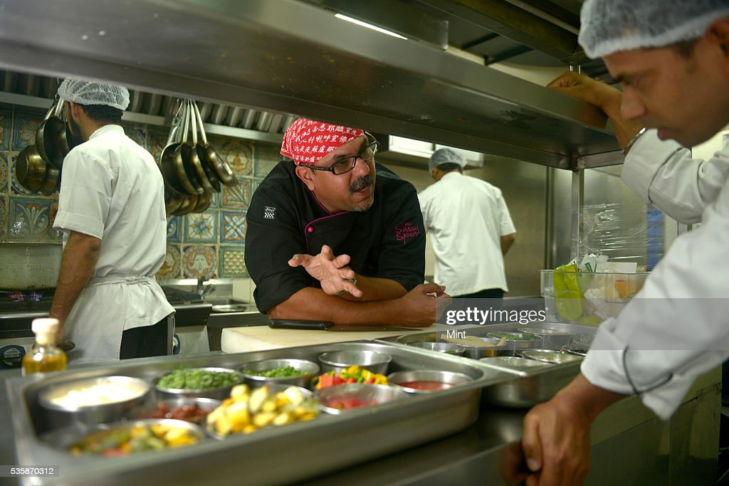 Irfan Pabaney, chef and co-owner of The Sassy Spoon, photographed while working in restaurant on October 5, 2015 in Mumbai, India.