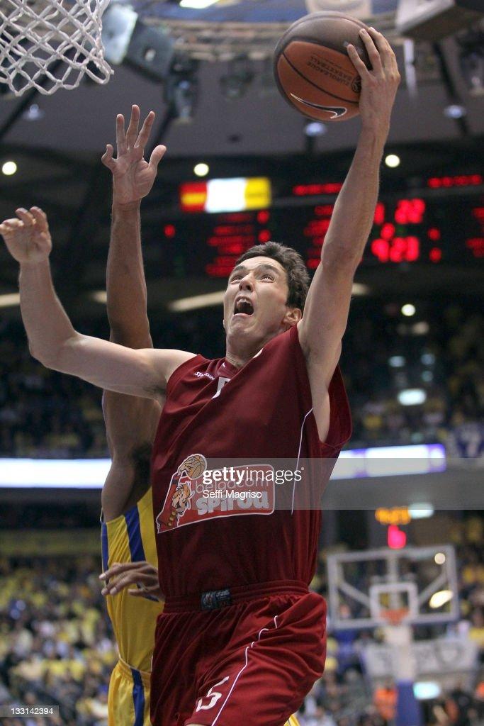 Maccabi Electra Tel Aviv v Belgacom Spirou - Turkish Airlines Euroleague