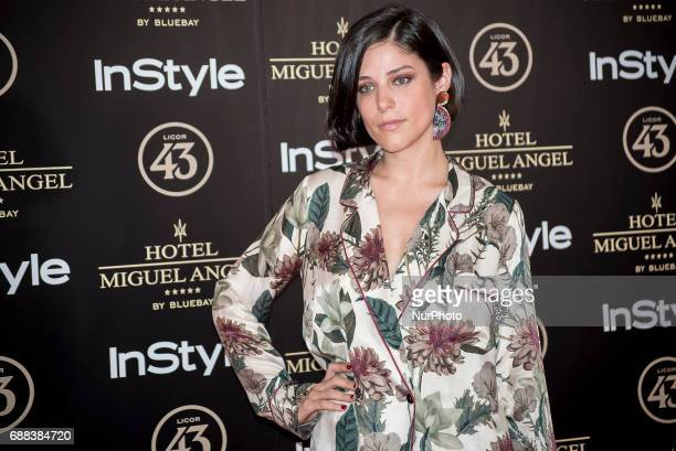Iria del Rio attends El Jardin del Miguel Angel party photocall at Miguel Angel hotel on May 24 2017 in Madrid Spain