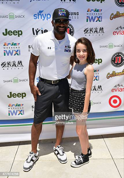 Irie and Julia Dale attends JEEP 11th Annual Celebrity Golf Tournament during The 11th Annual Irie Weekend at Miami Beach Golf Club on June 19 2015...