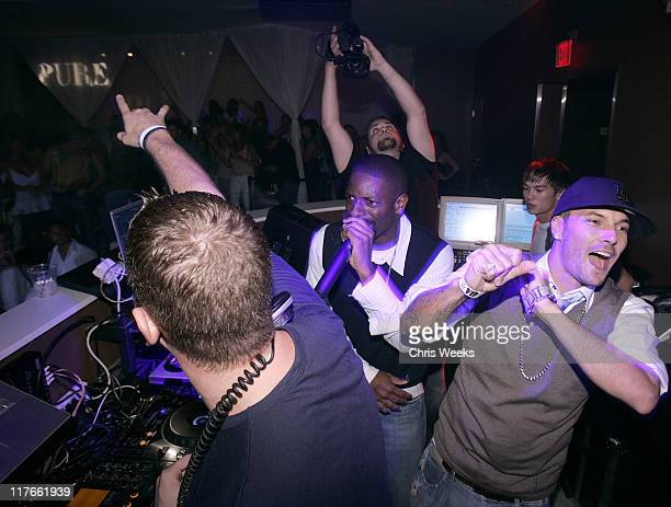 DJ Irie and Kevin Federline during Kevin Federline Music Video Shoot After Party at Pure Nightclub – Inside at Pure Nightclub in Las Vegas Nevada...