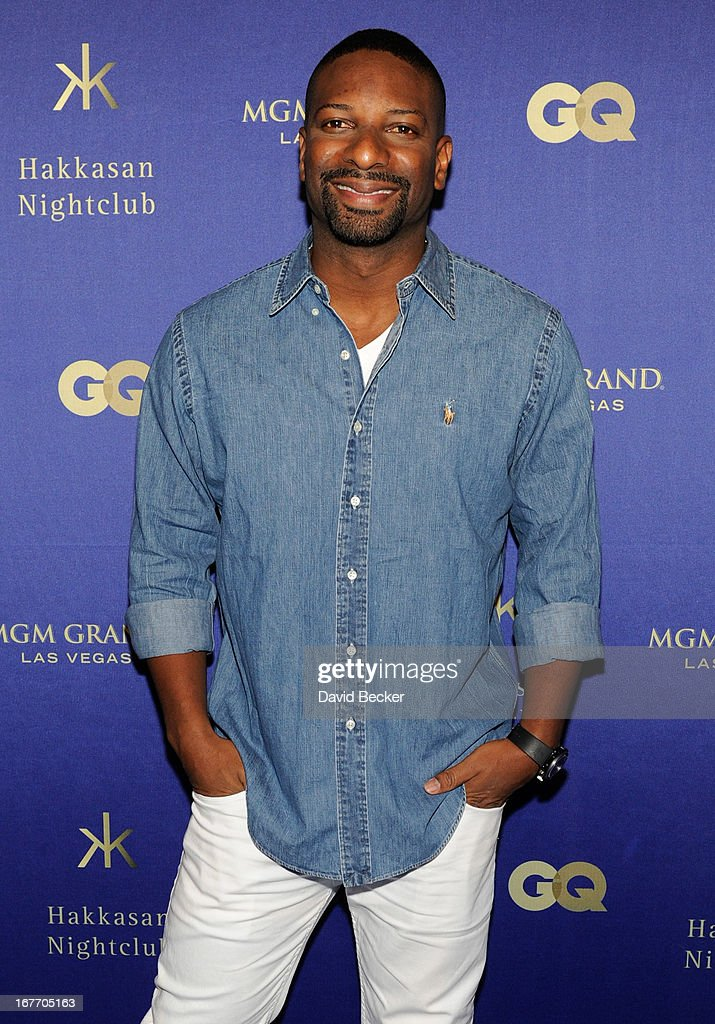 DJ Irie arrives at the grand opening of Hakkasan Las Vegas Restaurant and Nightclub at the MGM Grand Hotel/Casino on April 27, 2013 in Las Vegas, Nevada.
