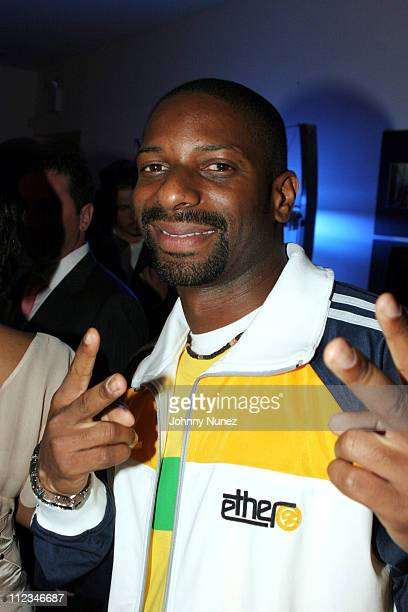 DJ Irie during Jacob the Jeweler's Shoe Launch at The Bentley Showroom in New York City New York United States