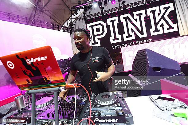 Irie performs onstage at the 'PINK Nation Campus Party' hosted by Victoria's Secret PINK at Virginia Tech on October 18 2016 in Blacksburg Virginia