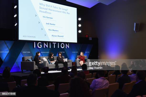 Irin Carmon Contributor for The Washington Post Jodi Kantor Investigative Reporter for The New York Times and Kim Masters Editoratlarge at The...