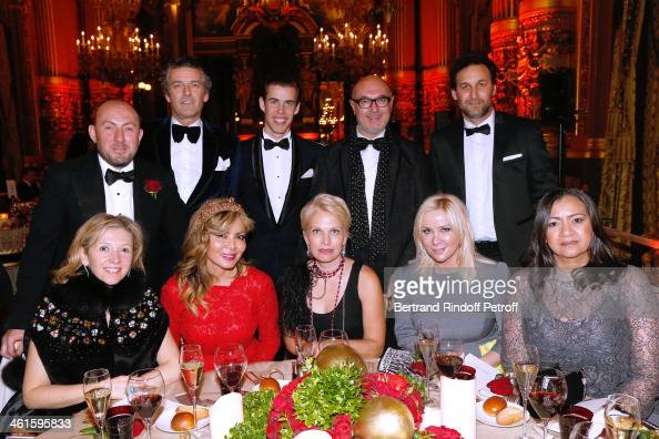 Irina Abramovich and Guests attend Arop Charity Gala with 'Ballet du Theatre Bolchoi' Held at Opera Garnier on January 9 2014 in Paris France