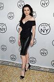 Irina Dvorovenko attends 'Made In NY' Awards Ceremony at Weylin B Seymour's on November 10 2014 in Brooklyn New York