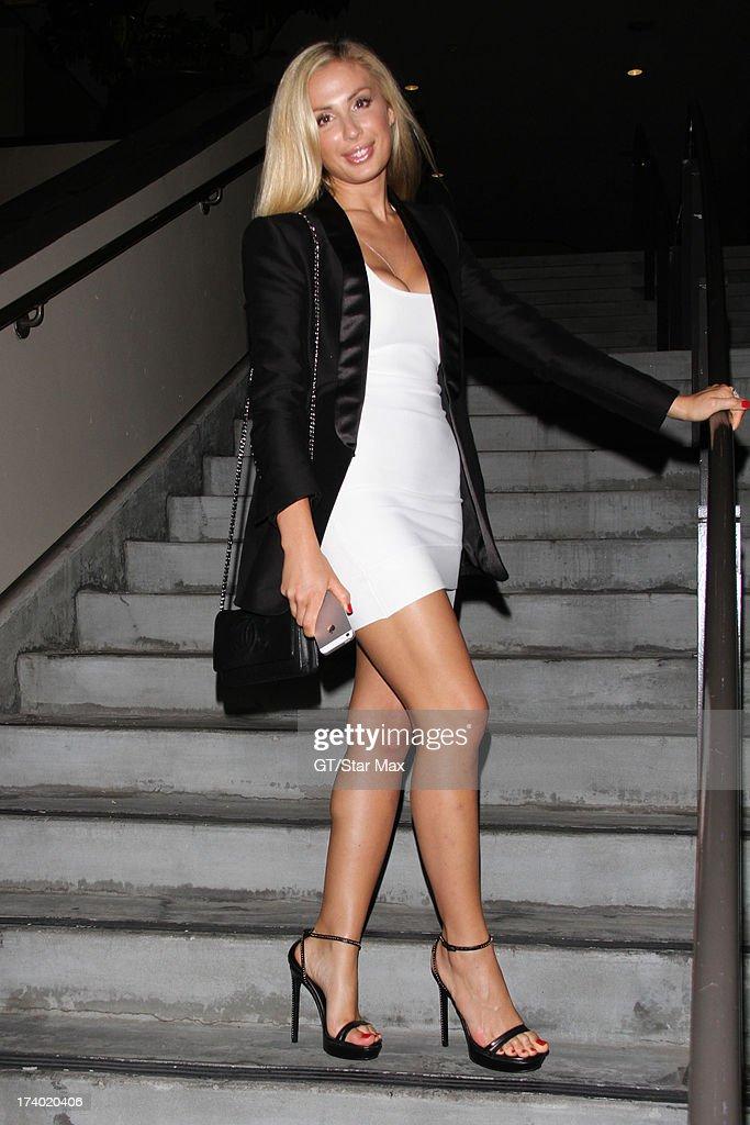 Irina is seen on July 18, 2013 in Los Angeles, California.