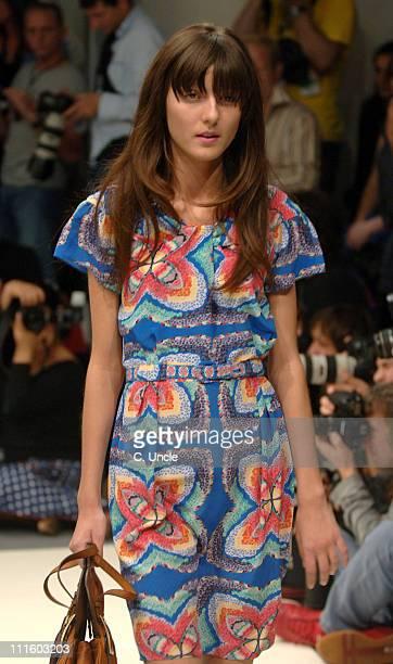 Irina Lazareanu wearing Gharani Strok Spring/Summer 2007