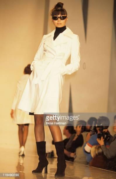 Irina Pantaeva during Donna Karan Fashion Show 1995 in New York City New York United States