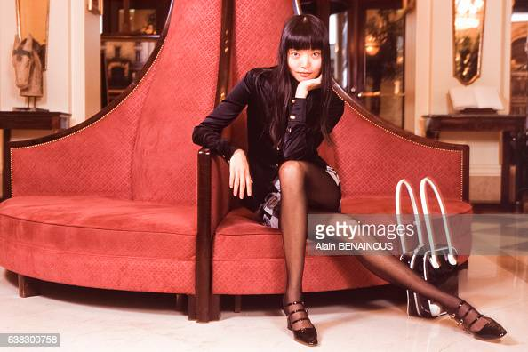 Irina Pantaeva premier mannequin inuit le 19 mars 1995 à Paris en France