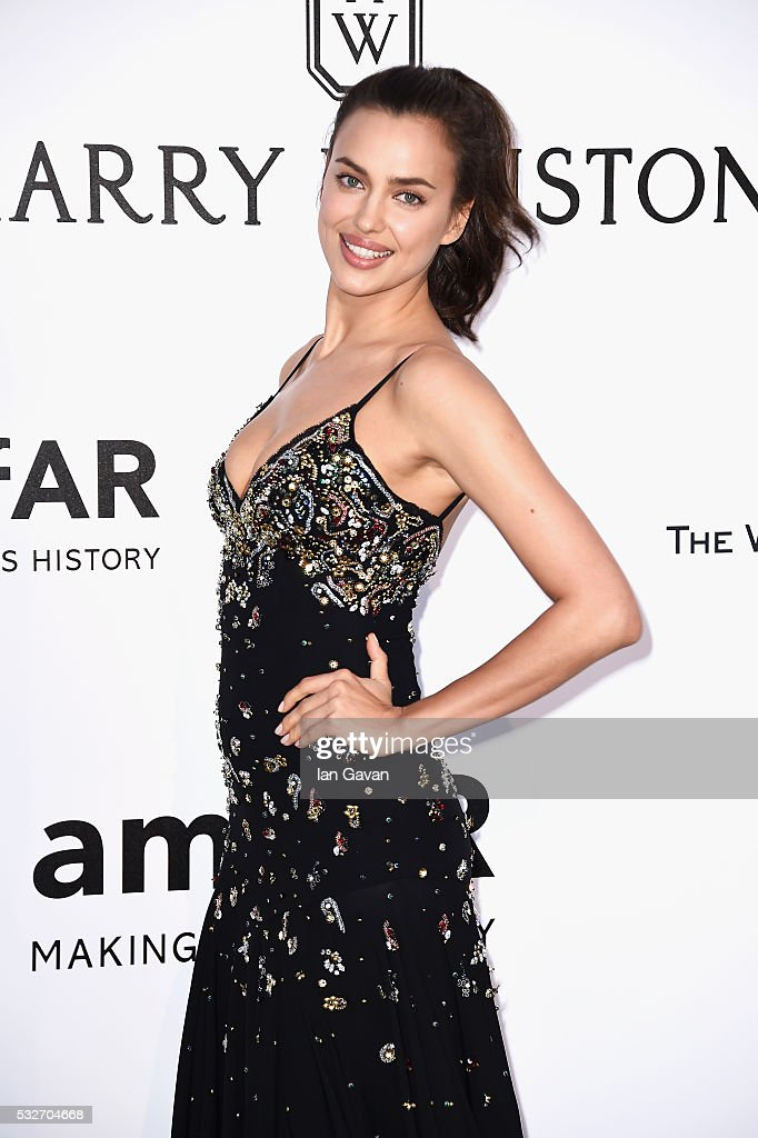 Irina Shayk arrives at amfAR's 23rd Cinema Against AIDS Gala at Hotel du CapEdenRoc on May 19 2016 in Cap d'Antibes France