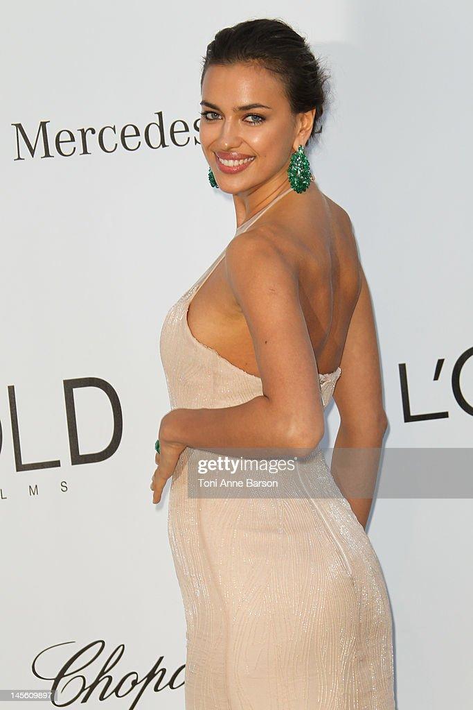 Irina Shayk arrives at amfAR's Cinema Against AIDS at Hotel Du Cap on May 24, 2012 in Antibes, France.