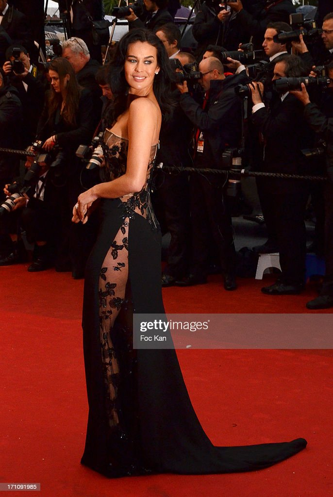 Irina Shayk attend the Premiere of 'Jimmy P. (Psychotherapy Of A Plains Indian)' at Palais des Festivals during The 66th Annual Cannes Film Festival on May 18, 2013 in Cannes, France.