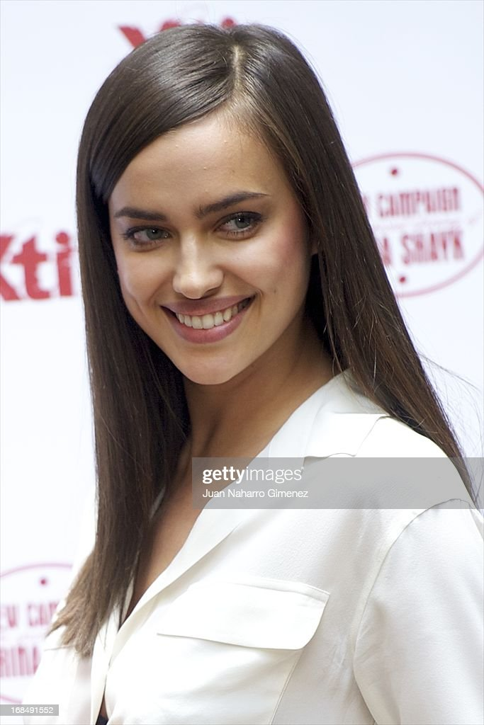 Irina Shayk attends a presentation of the new Xti shoe collection at Hospes Hotel on May 10, 2013 in Madrid, Spain.