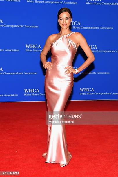 Irina Shayk attends the 101st Annual White House Correspondents' Association Dinner at the Washington Hilton on April 25 2015 in Washington DC