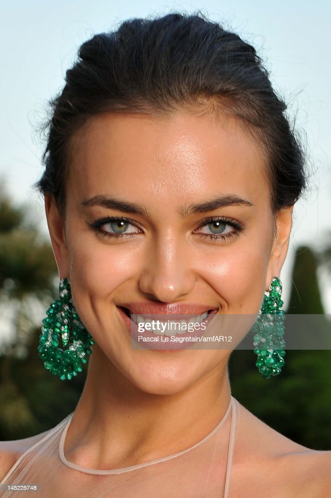 Irina Shayk attends the 2012 amfAR's Cinema Against AIDS during the 65th Annual Cannes Film Festival at Hotel Du Cap on May 24, 2012 in Cap D'Antibes, France.