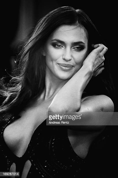 Irina Shayk attends the 'All Is Lost' Premiere during the 66th Annual Cannes Film Festival at Palais des Festivals on May 22 2013 in Cannes France