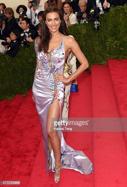 Irina Shayk attends the 'China Through The Looking Glass' Costume Institute Benefit Gala at Metropolitan Museum of Art on May 4 2015 in New York City